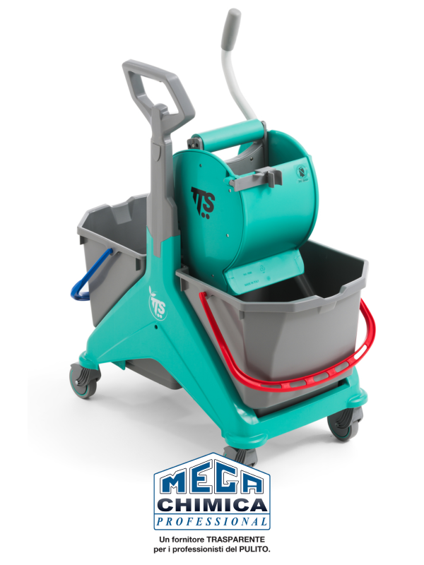 Attrezzatura pulizia professionale lavapavimenti-nick-verde