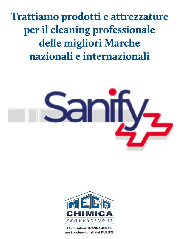 Prodotti professionali cleaning migliori marche-sanify