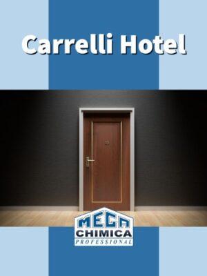 Carrelli pulizia e sanificazione hotel